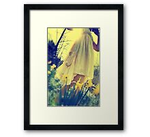 spring breeze - early evening Framed Print