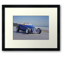 1933 Ford 'Beach Party' Roadster Framed Print