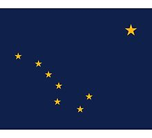 ALASKA, Alaskan Flag, Flag of Alaska, State flags of America, USA by TOM HILL - Designer
