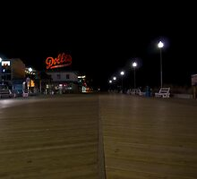 Quiet Night on the Boardwalk by ericseyes