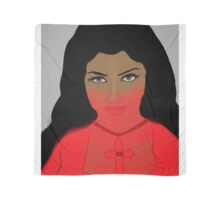Woman with Violet Eyes Scarf