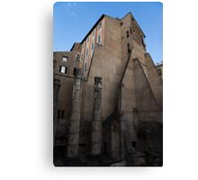 Rome, Italy - Many Centuries of History and Architecture  Canvas Print