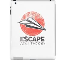 Escape Adulthood iPad Case/Skin