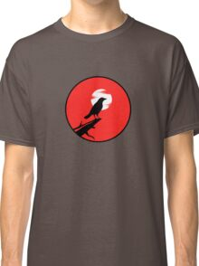 The Crow (red sky) Classic T-Shirt