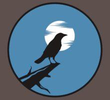 The Crow (blue sky) Kids Clothes