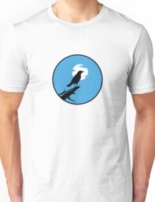 The Crow (blue sky) Unisex T-Shirt