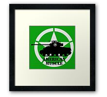 American Muscle WW2 Framed Print