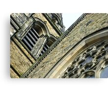 St. Brycedale Church facades Canvas Print