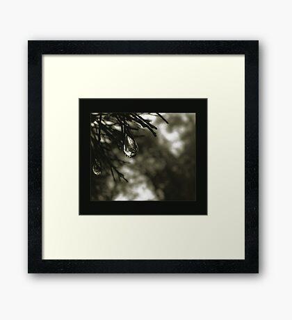 chrystal chime Framed Print