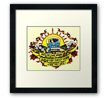 May The Four Winds Blow You Safely Home - Fare Thee Well Framed Print