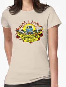 May The Four Winds Blow You Safely Home - Fare Thee Well Womens Fitted T-Shirt