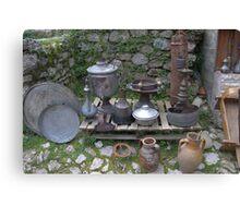 Albanian ancient artifact 01 Canvas Print