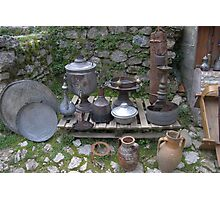 Albanian ancient artifact 01 Photographic Print