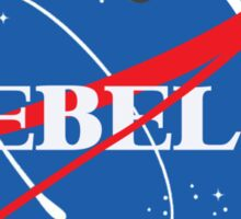 NASA Rebels Logo Sticker