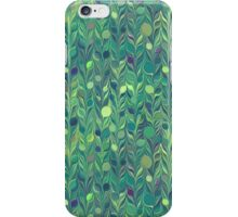 Green Dots Feathers iPhone Case/Skin