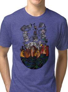 Big robots Tri-blend T-Shirt
