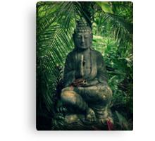 Bali Buddha Canvas Print