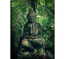 Bali Buddha Photographic Print