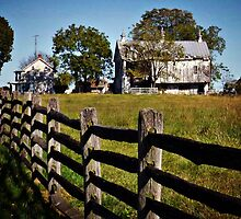 Historic Farmhouse - Antietam Battlefield, Sharpsburg MD by Bine