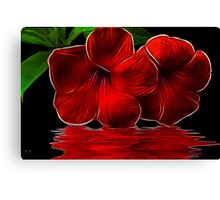 Magestic Red Canvas Print