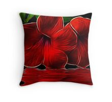 Magestic Red Throw Pillow