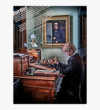 the typesetter Photographic Print