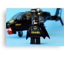 Batman's Chopper Canvas Print