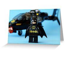 Batman's Chopper Greeting Card