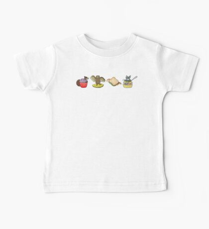 All the Animals with Background Baby Tee