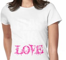 Plastic Love Womens Fitted T-Shirt