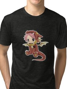 Natsu Dragneel (chibi) Tri-blend T-Shirt