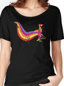 psychedelic Penguin Women's Relaxed Fit T-Shirt