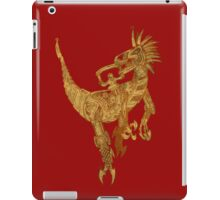 Clockwork Velociraptor iPad Case/Skin