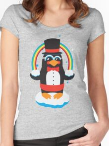penguin Magic Women's Fitted Scoop T-Shirt