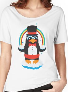 penguin Magic Women's Relaxed Fit T-Shirt