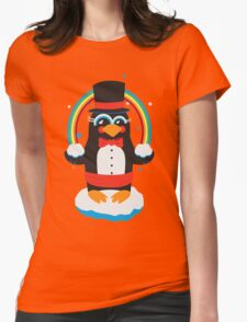 penguin Magic Womens Fitted T-Shirt