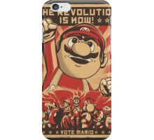 Vote Mario iPhone Case/Skin