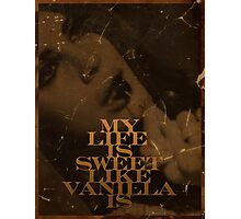 Vanilla Photographic Print