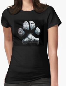 Animal Lovers - South Paw Womens Fitted T-Shirt