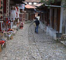 The old bazaar of Kruja, Albania 2 by Petrit  Metohu