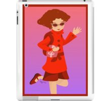 The Woman in Red iPad Case/Skin
