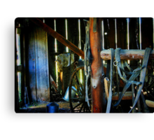 In the Old Barn Canvas Print
