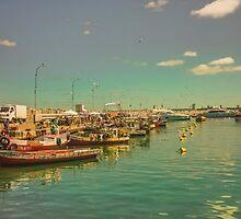 Punta del Este Port View by DFLC Prints