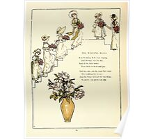 Marigold Garden Pictures and Rhymes Kate Grenaway 1900 0022 The Wedding Bells Poster