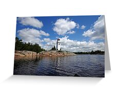 Key Harbour Lighthouse Greeting Card