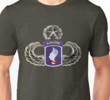 173rd Airborne brigade on master jumpwings Unisex T-Shirt