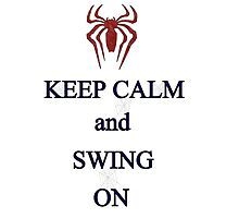 Keep Calm and Swing On by sloganart