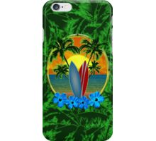Surfboard Sunset  iPhone Case/Skin