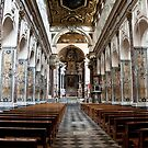 Nave Of St. Andrew's Cathedral by phil decocco