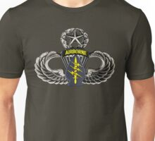 Special Forces patch on Master Jump Wings Unisex T-Shirt